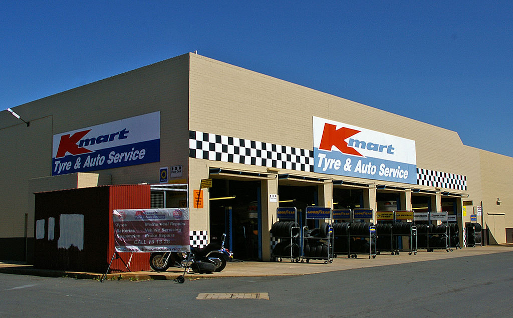 Kmart Auto Centres Frolics and Fopars | The Irish Rover\'s Blog